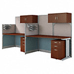 2 Person Cubicle Workstations