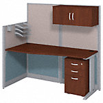 65W x 33D Cubicle Workstation with Storage