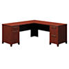 72W x 72D L Shaped Office Desk with Drawers