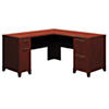 60W x 60D L Shaped Office Desk with Drawers