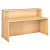 72W x 30D Reception Gallery Shell Desk
