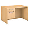 48W x 30D Desk with 3/4 Pedestal