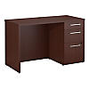 48W x 22D Desk Shell with 3 Drawer Pedestal