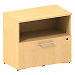 30W Cabinet with Lateral File Drawer