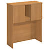 36W Tall Hutch Storage with Doors Kit