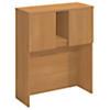 36W Tall Hutch Storage with Doors Kit