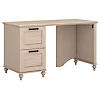 51W Desk with 2 Drawer Pedestal