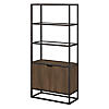 5 Shelf Bookcase with Doors