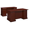 Manager's Desk and Credenza
