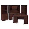 Executive Desk, Credenza, Lateral File Cabinet, Hutches and Bookcase