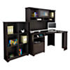 Corner Desk with Hutch and 6 Cube Bookcase