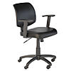 Petite Leather Office Chair