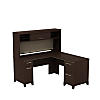 60W X 60D L-Desk with Hutch Storage