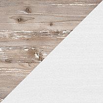 White Suede Oak/Barnwood