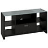 Credenza TV Stand with Glass Top