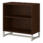 2 Shelf Bookcase Cabinet