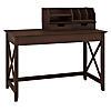 48W Writing Desk with Desktop Organizers
