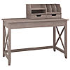 48W Writing Desk with Desktop Organizers