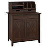 Laptop Storage Desk Credenza with Desktop Organizers