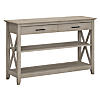 Console Table with Drawers and Shelves