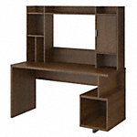 60W Writing Desk with Hutch