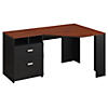 60W Reversible Corner Desk with Storage