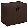 36W Storage Cabinet with Doors and Shelves