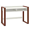 48W x 24D Writing Desk with Shelves