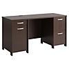 58W Office Desk with 2 Pedestals