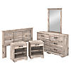 5 Piece Full/Queen Size Bedroom Set