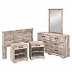 5 Piece Full/Queen Size Bedroom Set