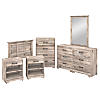 6 Piece Twin Size Bedroom Set
