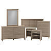 Full/Queen Size 6 Piece Bedroom Set