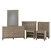 Twin Size 6 Piece Bedroom Set