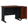 36W Desk with Mobile File Cabinet