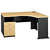 Corner Desk with Drawers