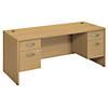 72W x 30D Desk with 2 Pedestals
