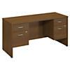 60W x 24D Desk Credenza with 2 Pedestals
