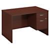 48W x 30D Desk with 3/4 Pedestal