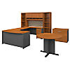 Right Handed U Shaped Desk, Storage and Conference Table