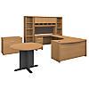 Left Handed U Shaped Desk, Storage and Conference Table