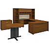 Left Handed U Shaped Desk, Storage and Conference Table