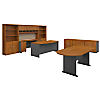 72W Executive Office with Storage and Conference Table