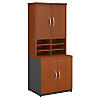 30W Storage Cabinet with Hutch