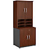 30W Storage Cabinet and Hutch