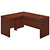 60W x 24D Desk Shell with 30W Return