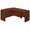 60W x 43D Right Handed Bow Front L Shaped Desk with 30W Return