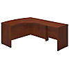 60W x 43D Right Handed Bow Front L Shaped Desk with 36W Return