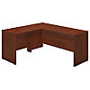 66W x 24D L Shaped Desk with 36W Return