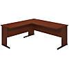 72W x 30D C Leg Desk with 42W Return
